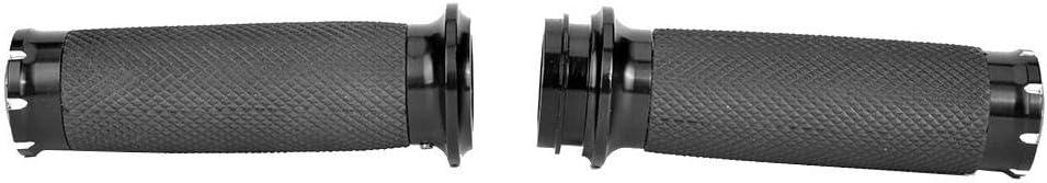 Dingln Poign/ées dacc/él/érateur /électroniques Manchon de poign/ée RSD Noir antid/érapant pour FLTRX FLHR