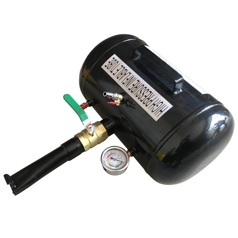 PARTS-DIYER 5 Gallon Compact High Air Bead Seater Tire Inflator Blaster Truck Tractor Black by PARTS-DIYER