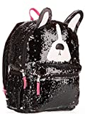 Puppy Dog 2 Way Sequins Critter Backpack 16