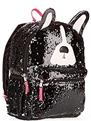 2 Way Sequins Puppy Dog Backpack
