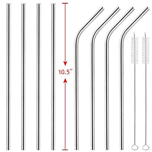 Stainless Steel Straws Set Reusable
