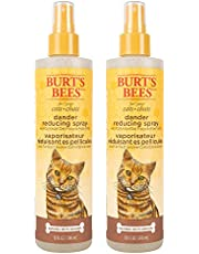 Burt's Bees Dander Reducing Spray for Cats | Made with Colloidal Oat Flour & Aloe Vera | Cruelty Free, Sulfate & Paraben Free, pH Balanced for Cats - Made in the USA