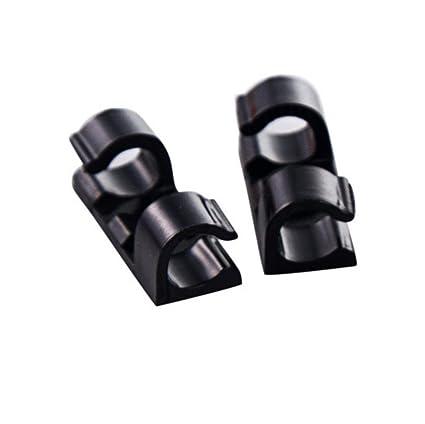 Auto-Adhesivo de Cables, Magiyard 20 Piezas Clips de Cable Auto-adhesivo Abrazadera