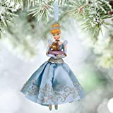 disney store 2015 cinderella jaq gus sketchbook christmas ornament new with tag