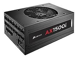 Corsair Axi Series, Ax1500i, 1500 Watt (1500w), Fully Modular Digital Power Supply, 80+ Titanium Certified