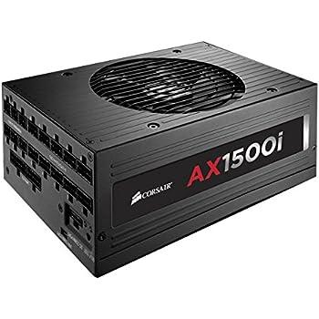 CORSAIR AXi Series, AX1500i, 1500 Watt, Fully Modular Digital Power Supply, 80+ Titanium Certified
