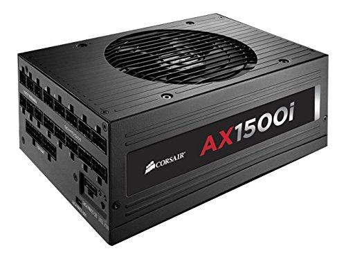 Corsair AXi Series, AX1500i, 1500 Watt (1500W), Fully Modular Digital Power Supply, 80+ Titanium Certified by Corsair