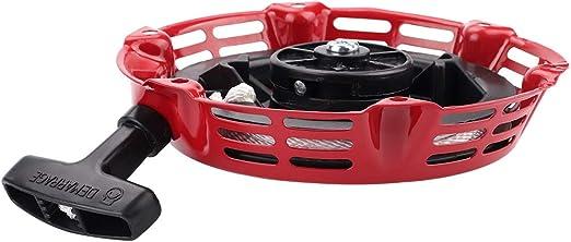 Amazon.com: Mannial Recoil - Motor de arranque para Honda ...