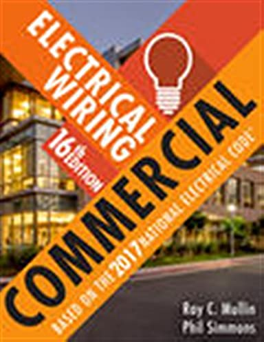 electrical wiring commercial phil simmons ray c mullin rh amazon com Residential Electrical Wiring Book Home Wiring Books