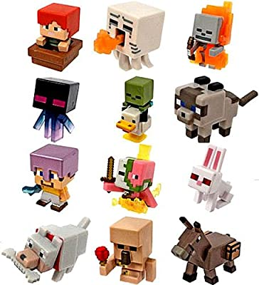 Minecraft Mini Figures Ice Series 5 Complete Set of 12