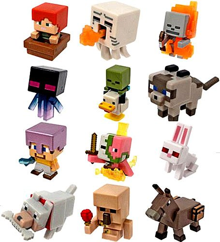 Minecraft Minifigures 1 Pack Ice Series 5 Complete Set Of