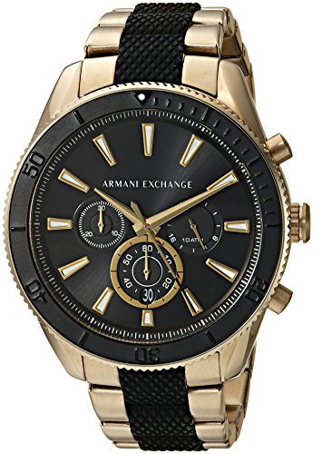 ed09bc9436a Armani Exchange Men s Quartz Stainless Steel Casual Watch