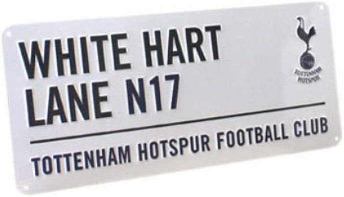 Tottenham Hotspur FC White Hart Lane Metall Stra/ße Unterzeichnen