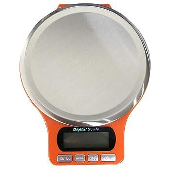IBaste_Top - Báscula de Cocina Digital (Bandeja de Acero Inoxidable ...