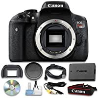 Canon EOS Rebel T6i Digital SLR (Body Only) - Wi-Fi Enabled International Version (No warranty) Advantages Review Image