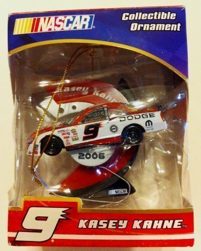 Nascar #9 Kasey Kahen 2006 Dated Collectible Ornaments