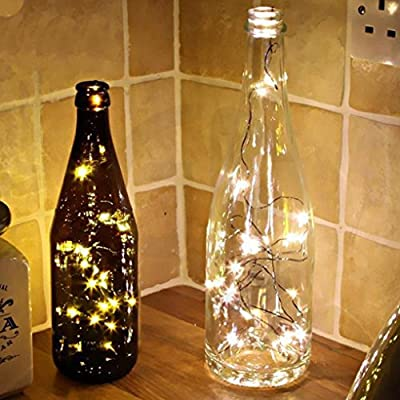 1PC Light String, XUANOU String Fairy Light Mini LED Beads Convenient Battery Operated For Xmas Lights Party Wedding Lamp