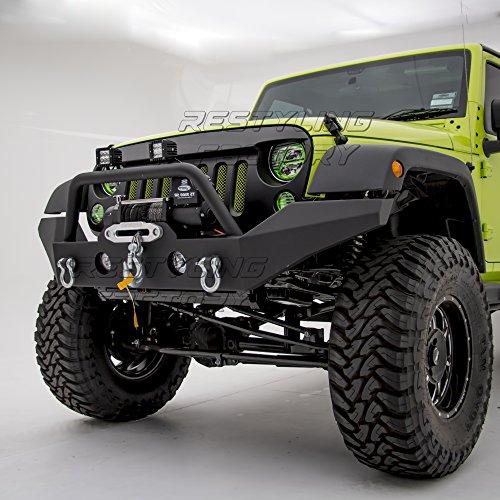 2012 Wrangler Bumper >> 2012 Jeep Wrangler Front Bumper Amazon Com