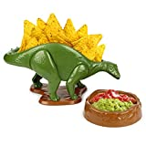 #1: Barbuzzo NACHOsaurus Dip and Snack Dish Set - Epic Jurrasic Bowls for Chips, Popcorn, Candy, Pretzels, Nachos, Salsa, Guacamole and More - The Perfect Prehistoric Gift for Dinosaur Enthusiasts