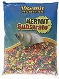Hermit Habitat Terrarium Substrates, 5-Pound, Neon Rainbow