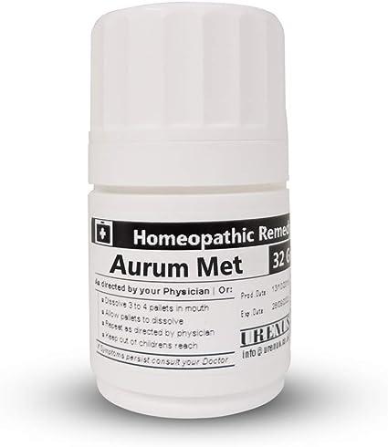 Amazon.com: Remedio homeopàtico Homeopatía//Medicina 30 C – Aurum ...