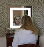 Wall Mounted Lighted Vanity Mirror LED MAM82424 Commercial Grade 24'' W x 24'' T