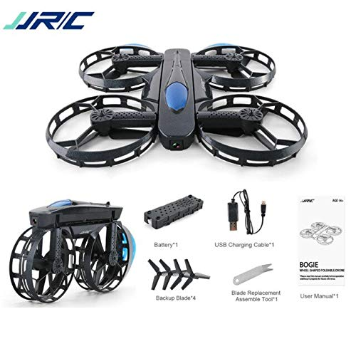 Part & Accessories JJRC H45 BOGIE 720P WiFi FPV Selfie Drone With High Hold Mode Foldable Arm RTF RC Quadcopter Kids Outdoor Toys Gift - (Color: One Battery)