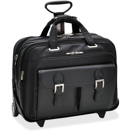 Siamod Vernazza 46005 Carrying Case For 17'' Notebook . Black . Leather ''Product Type: Accessories/Carrying Cases''