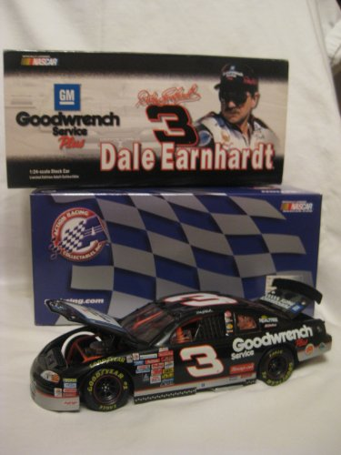 Dale Earnhardt #3 1999 GM Goodwrench Service Plus/Sign Monte Carlo. 1/24 Scale Diecast. Original 1999 Issue. Limited (Goodwrench Engine)