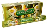 1 X Camomile – Box of Six 20 Stick Tubes, 120 Sticks Total – HEM Incense