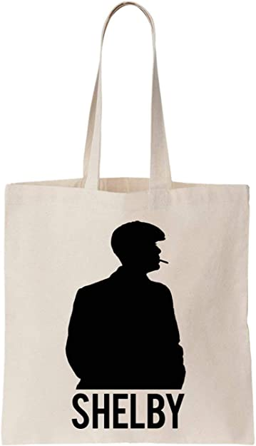 Shelby Stencil Algodón Bag Tote Bag: Amazon.es: Zapatos y complementos