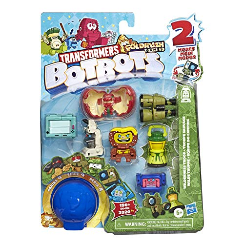 Transformers Toys BotBots Series 4 Movie Moguls 8-Pack – Mystery 2-in-1 Collectible Figures! Kids Ages 5 and Up by…