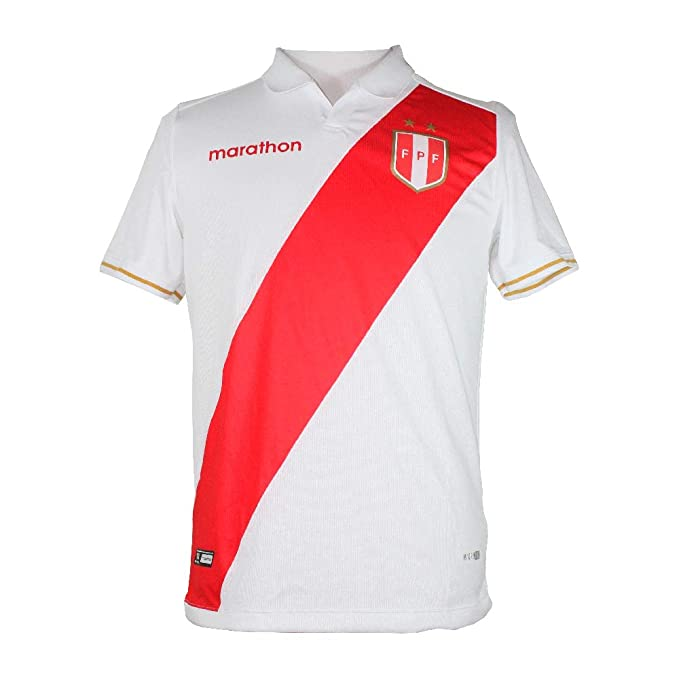 Amazon.com: Peru Jersey COPA America 2019 Home ESTADIO Marathon ...