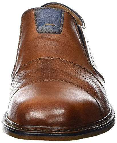 Homme Navy Royal Amaretto 40 EU Mocassins Marron Marron Rieker B1765 PqwTPE