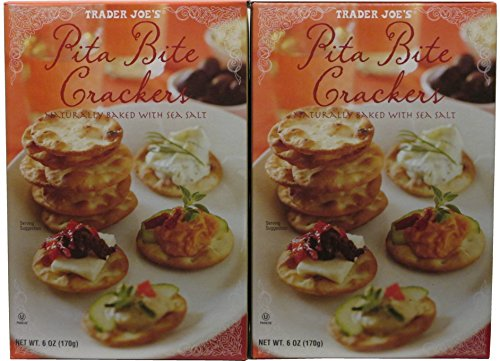 Cracker Bites (Trader Joe's Pita Bite Crackers (Pack of 2))