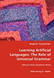Learning Artificial Languages, Angela Carpenter, 3836459264