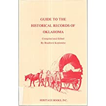 Guide to the Historical Records of Oklahoma