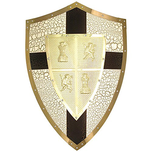 BladesUSA MC-4005 Medieval Shield 18.5-Inch x 28-Inch