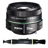 Pentax K-Mount SMC DA 50mm f/1.8 Prime Lens for Pentax Digital SLR Camera + Lenspen NLP-1 Cleaning Brush (Black)