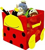 Kid Style Critter Cube, Lady Bug, 12'' x 12'' x 12''