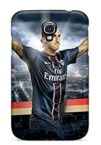 Durable Protector Case Cover With Zlatan Ibrahimovic Psg Hot Design For Galaxy S4