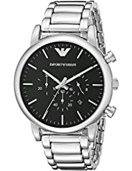Emporio Armani Mens AR1894 Dress Silver Watch