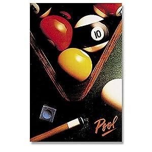 Billard-Poster Pool