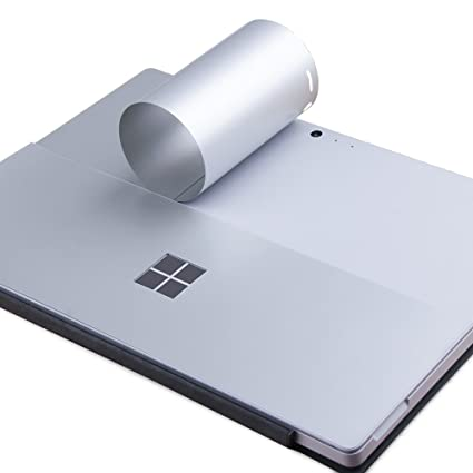 Jrc grey ultra thin decal skin for new microsoft surface pro 4 surface