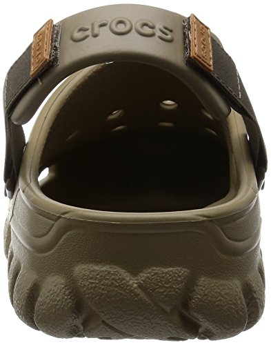 Unisex Clogs Sport crocs Erwachsene Khaki Braun Walnut Offroad E1xqI