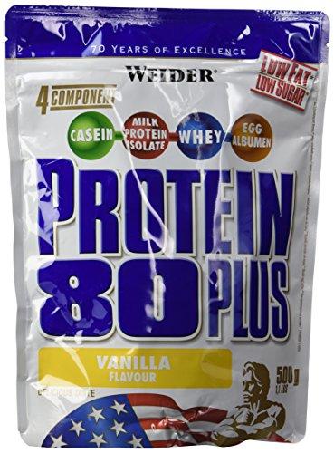 Weider 80 Plus Protein, Vanille, 500g Beutel