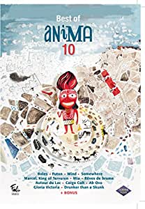 Best of Animation 10 (12 Films) ( Balls (Boles) / Futon / Wind / Somewhere / Marcel King of Tervuren / Mia / The Mist Is Coming In (R?ves de brume) / Ar [ NON-USA FORMAT PAL Reg.0 Import - France ]