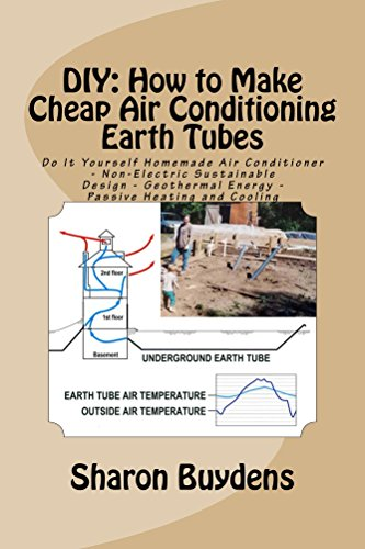 DIY: How to Make Cheap Air Conditioning Earth Tubes: Do It Yourself Homemade Air Conditioner - Non-Electric Sustainable Design - Geothermal Energy - Passive Heating and Cooling
