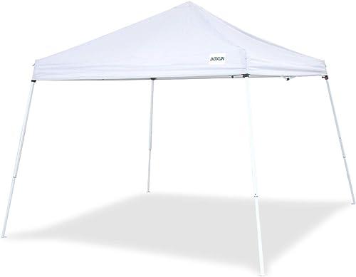 Aoxun Patio Pop-Up Slant Leg Canopy Tent