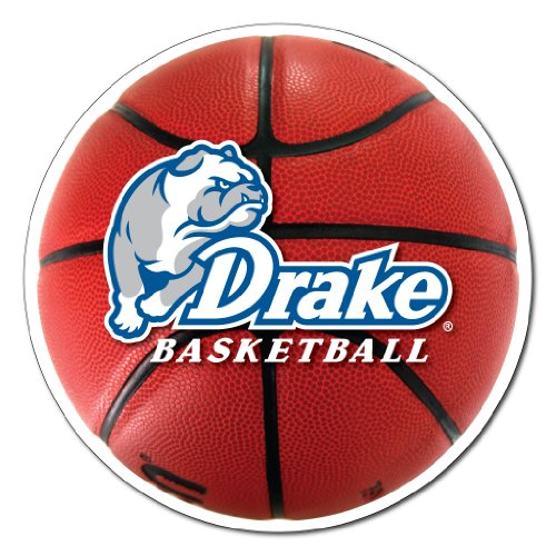 VictoryStore Magnets - Drake University Basketball Shaped Magnet, Size 12